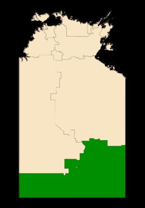 Electoral division of Namatjira - Namatjira in the Northern Territory