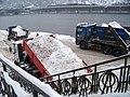 Na Františku, úložiště sněhu a náklaďáky.jpg