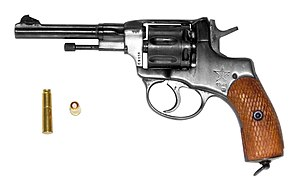 What gun is used for russian roulette world series of poker play for fun