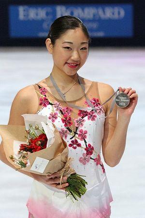Mirai Nagasu - Nagasu at the 2010 Trophée Eric Bompard.