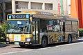 Nankai Bus 1602 at Sakai Station.jpg
