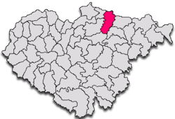 Commune Năpradea in Sălaj County
