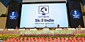 Narendra Modi launching the logo of the Skill India Mission, on the occasion of the World Youth Skills Day, in New Delhi. The Union Ministers Shri Arun Jaitley, Shri Manohar Parrikar, Shri Suresh Prabhu, Shri Anant Geete (1).jpg