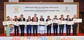 Narendra Modi with the ASEAN Heads of StateGovernments and ASEAN Secretary General on the occasion of the release of postal stamps to commemorate silver jubilee of India and ASEAN partnership.jpg
