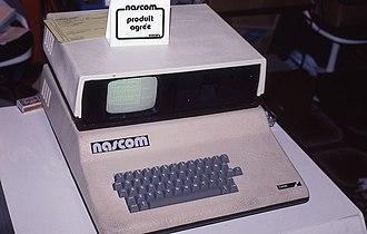 Nascom (computer kit) - Nascom 2 Computer, September 1981