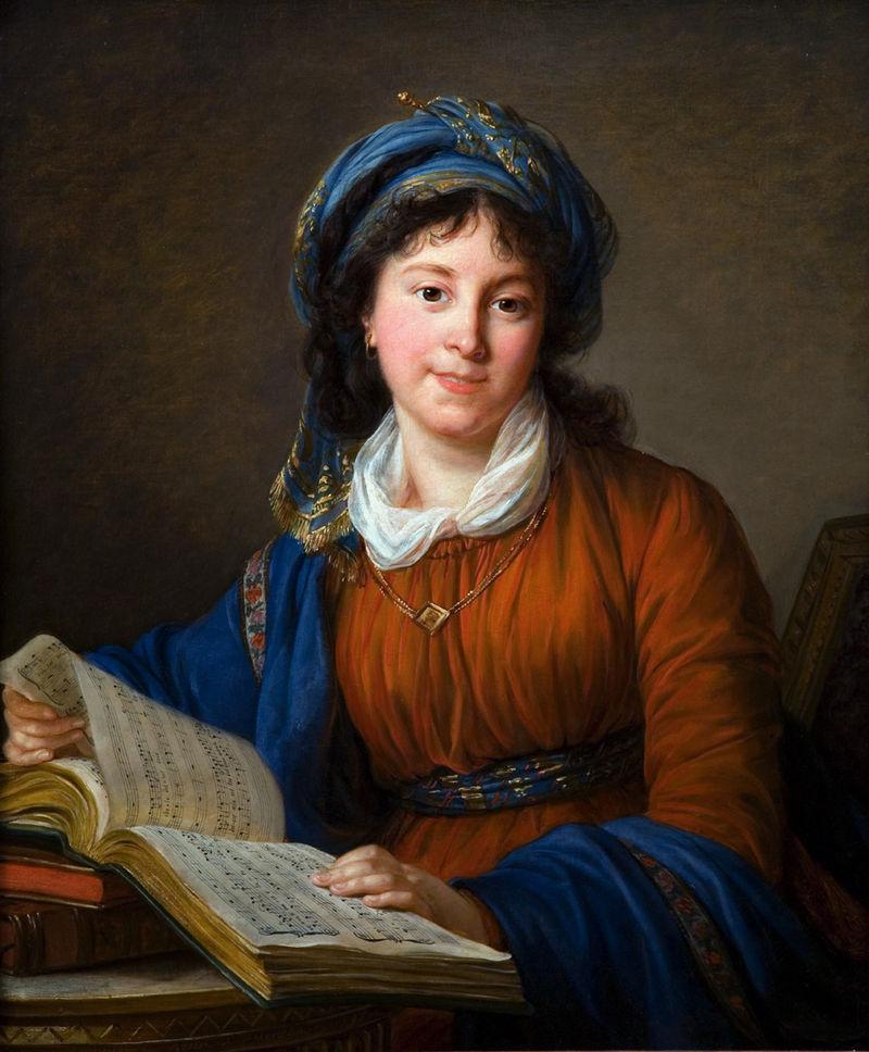 Художница Вижи-Лебрён, 1797 год