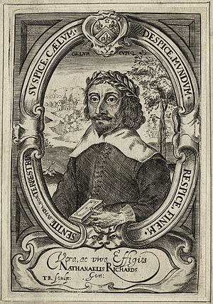 Nathanael Richards - Nathanael Richards, 1640 engraving
