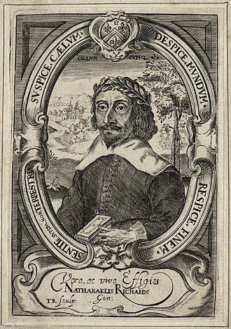 Nathanael Richards - Nathanael Richards, 1640 engraving