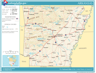 Geography of Arkansas