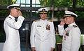 Naval Submarine Base New London's Shepherd change of command ceremony DVIDS187422.jpg