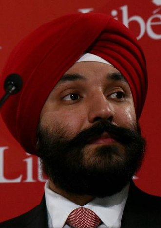 Minister of Innovation, Science and Economic Development - Image: Navdeep Bains 2011