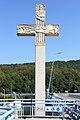 Nepomuk-Kreuz auf der Donaubrücke Pöchlarn 1.jpg
