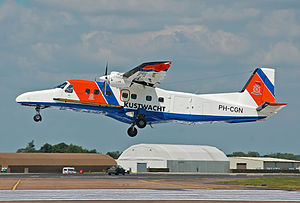 Netherlands Coastguard - Netherlands Coastguard Dornier Do 228 arrives for the Royal International Air Tattoo, England, (2014)