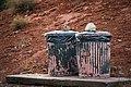 Nevada - North America - Valley of Fire State Park- Southwest - Garbage Cans (4893627106).jpg
