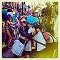 New Orleans Mardi Gras 2012 Besties Hug.jpg
