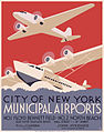 New York City municipal airports, WPA poster, ca. 1937.jpg