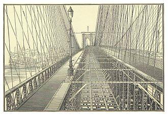 Brooklyn Bridge trolleys - Tracks