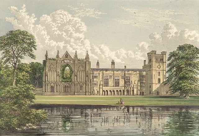 Ньюстедское аббатство, разрушенное во время тюдоровской секуляризации— родовое владение Байронов
