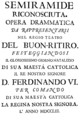 Niccolò Jommelli - Semiramide reconosciuta - titlepage of the libretto - Madrid 1753.png
