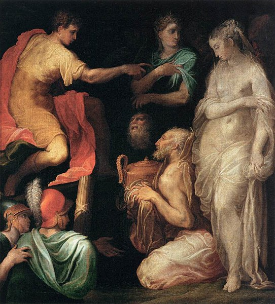File:Nicolò dell'Abate - The Continence of Scipio - WGA00015.jpg