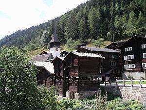 Niederwald, Switzerland - Image: Niederwald wiki
