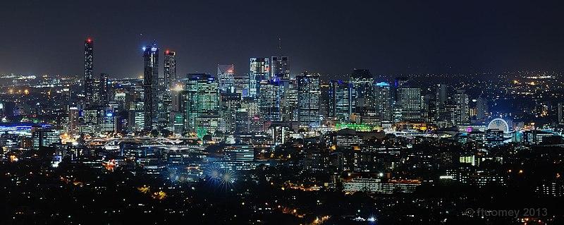 Night skyline of Brisbane, Queensland, Australia.jpg