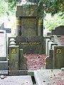 Nijmegen begraafplaats Daalseweg familiegraf Kropman, ontwerp C. Estourgie.JPG