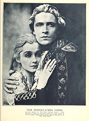 "Ivor Novello - Nina Vanna and Novello in ""The Man Without Desire"" (1923)"
