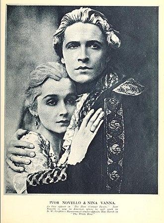 "Ivor Novello - Nina Vanna and Novello in ""The Man Without Desire"" (1923)"