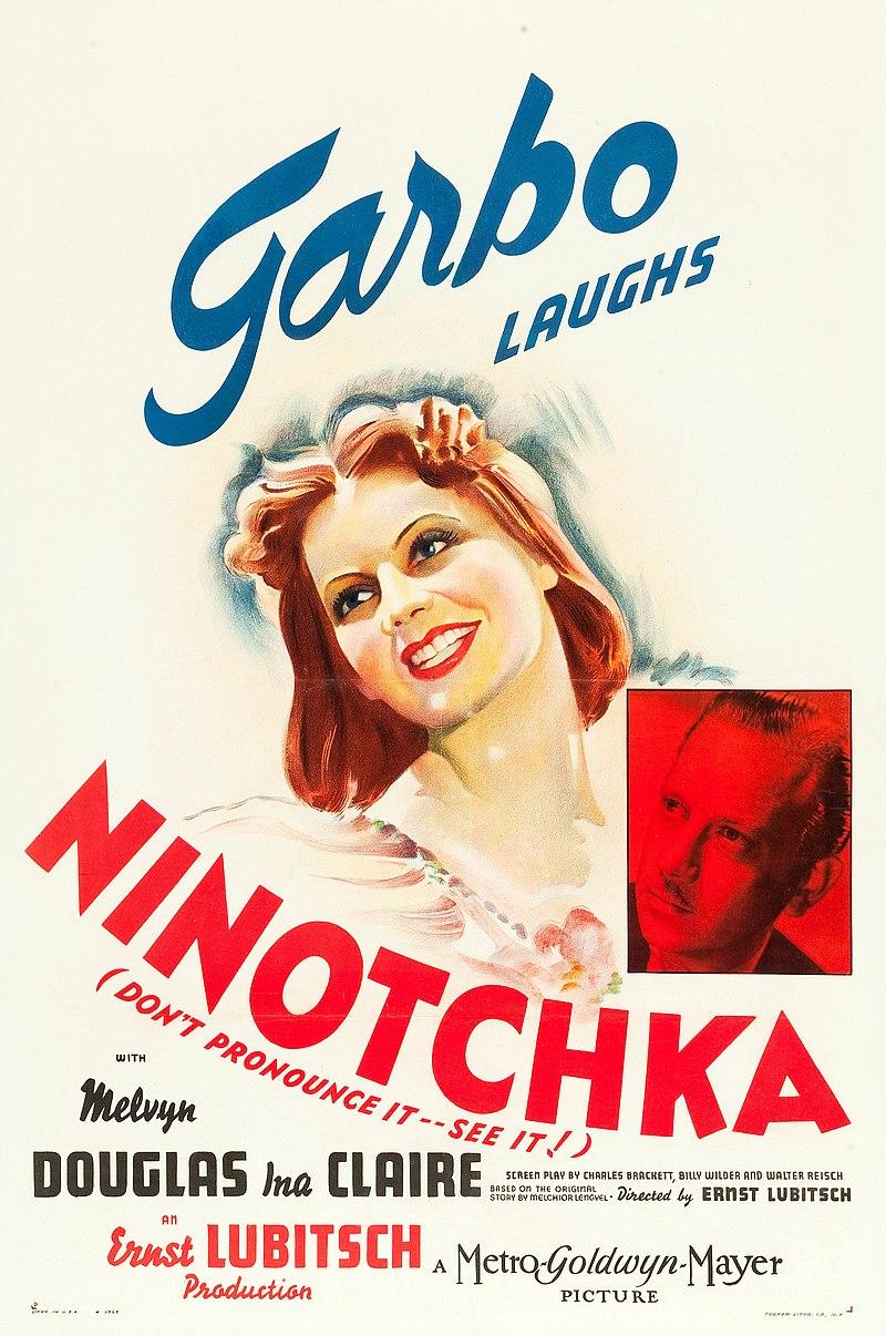 Plakat za film Ninočka