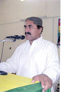 Mir Nooruddin Mengal Pakistani politician