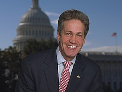 Norm Coleman, official photo portrait, 2006 (cropped)