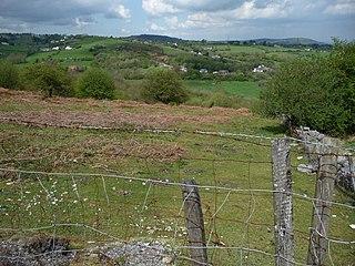 Minera Human settlement in Wales