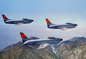 North American F-86D-1s USAF in flight.jpg
