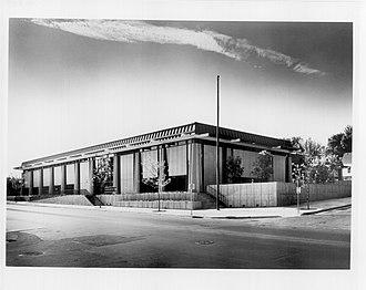North Regional Library - North Regional Library exterior, 1971