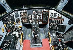 Northrop Tacit Blue - Northrop Tacit Blue cockpit