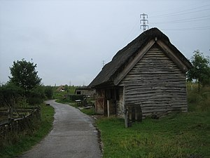 Monkwearmouth–Jarrow Abbey - The reconstructed farm at Jarrow Hall