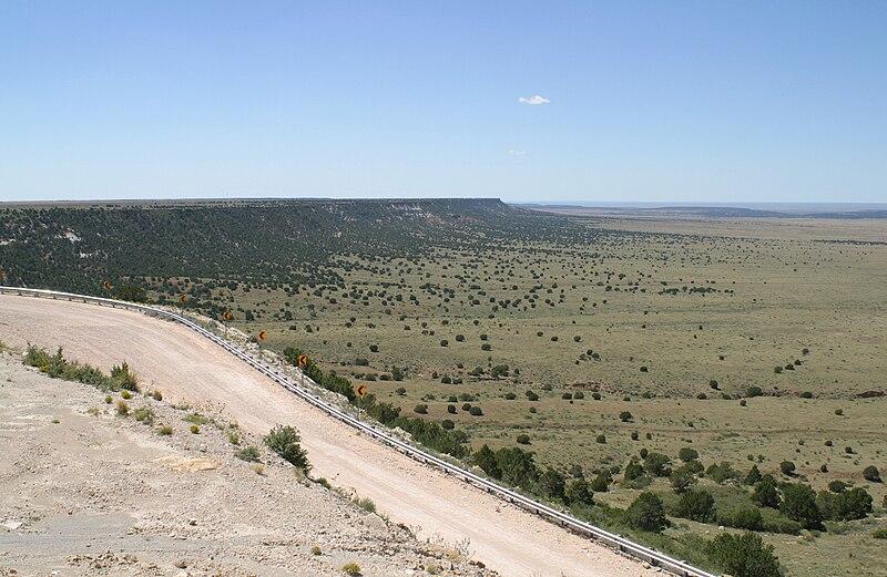 File:Northwest Escarpment Llano Estacado 2003.jpg