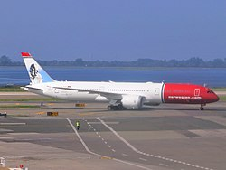 Boeing 787-9 der Norwegian Air UK