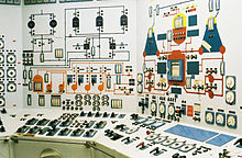 Nuclear Ship Savannah - Reactor Control Room - Center and Left Panels.jpg