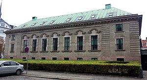 Domkirkepladsen 1 - Former National Bank branch building in Aarhus