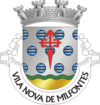Coat of arms of Vila Nova de Milfontes