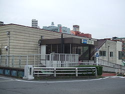 OER Yurigaoka station North.jpg
