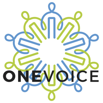 OneVoice Movement - Image: ONEVOICE Logo 2017
