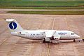 OO-DJZ 146-RJ85 Sabena-DAT BHX 14NOV98 (6050714129).jpg