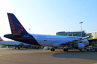 OO-SNF - A320 - Brussels Airlines