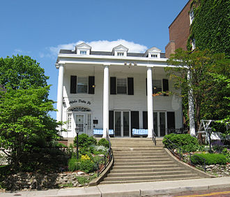 Alpha Delta Pi - Alpha Delta Pi Sorority House at Ohio University.
