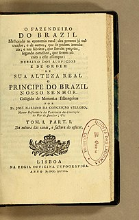 José Mariano de Conceição Vellozo Brazilian botanist (1742-1811)