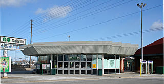 Oakville GO Station railway station in Oakville, Canada