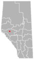 Obed, Alberta Location.png